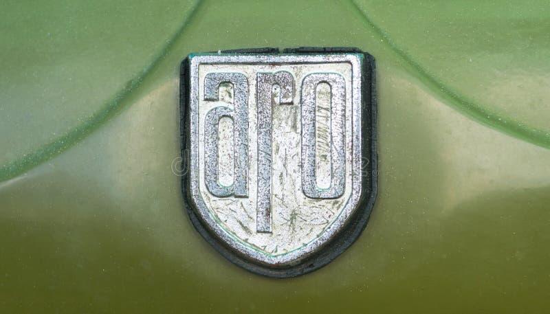 ARO-embleem royalty-vrije stock afbeeldingen