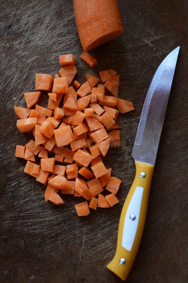 Aromático e rico em cenouras da vitamina A fotos de stock royalty free