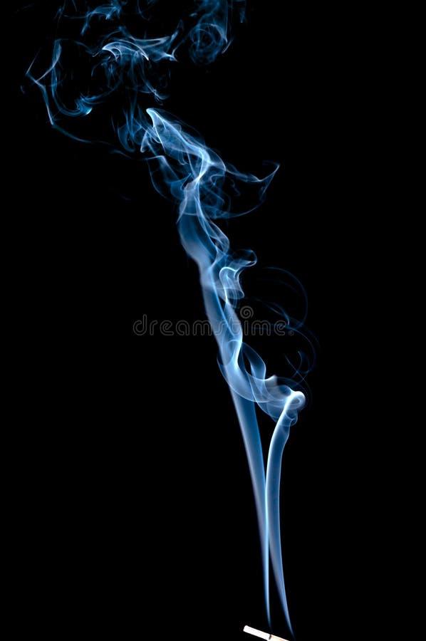 Aroma abstact Rauch stockfotos