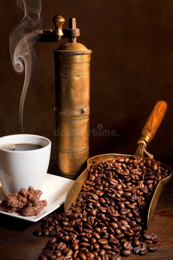 Aroma do café fotografia de stock