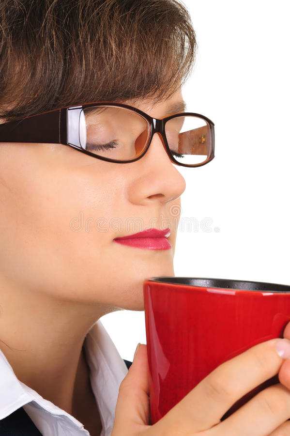 Aroma do café foto de stock