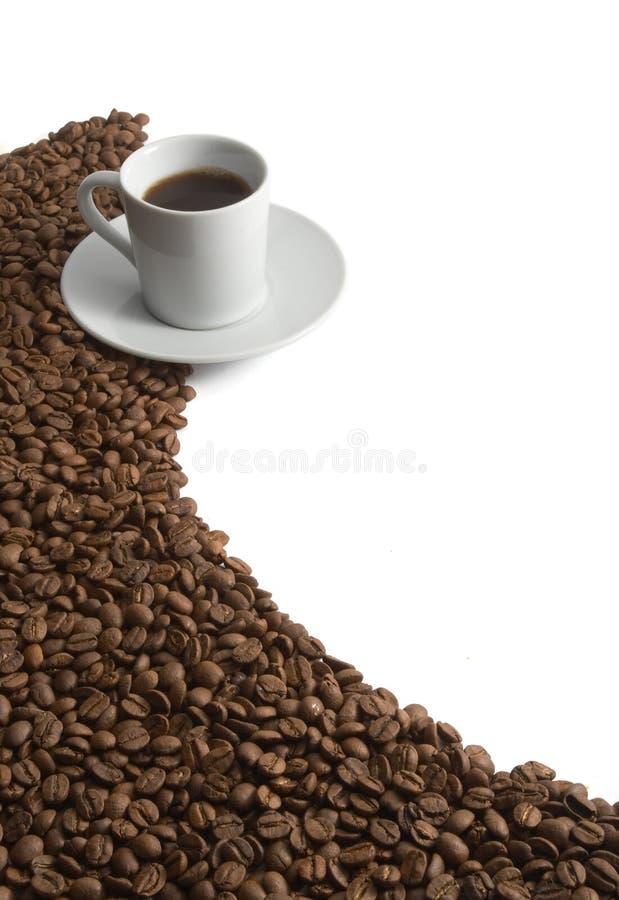 Aroma dos feijões de café imagens de stock royalty free