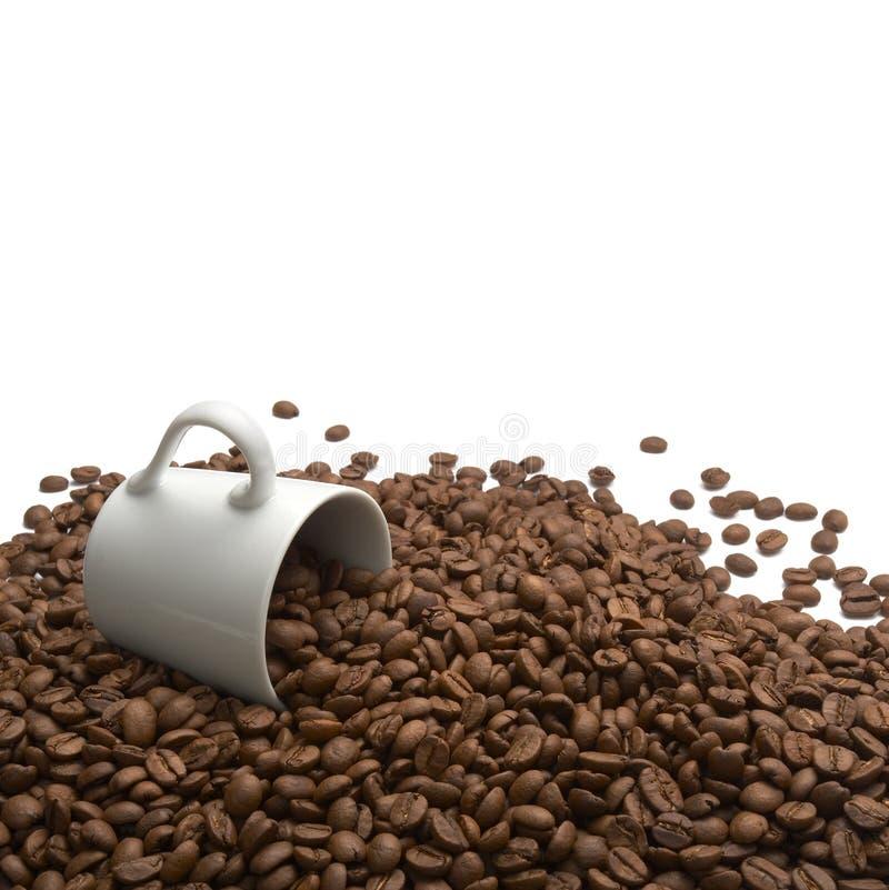Aroma dos feijões de café fotografia de stock royalty free