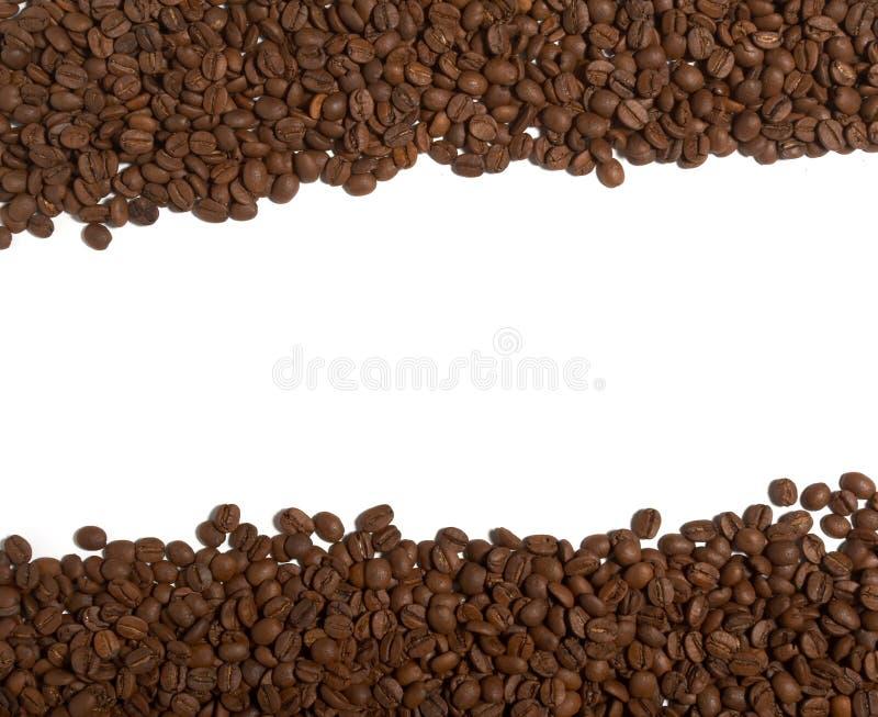 Aroma dos feijões de café fotografia de stock