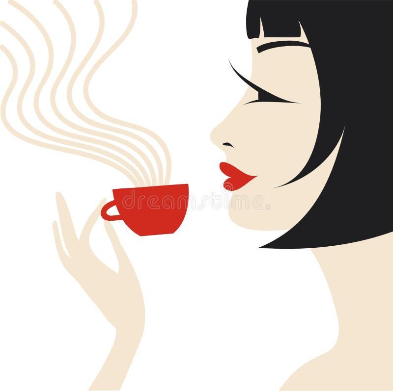 Aroma een koffie stock foto's