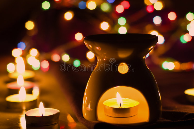Download Aroma lamp stock image. Image of therapy, lamp, light - 8935689
