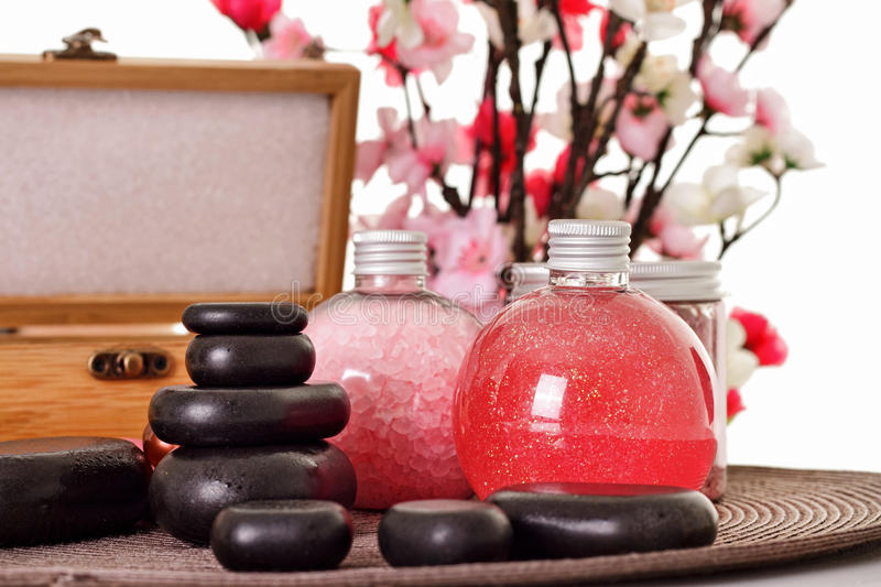 Aroma Spa Set Royalty Free Stock Photography