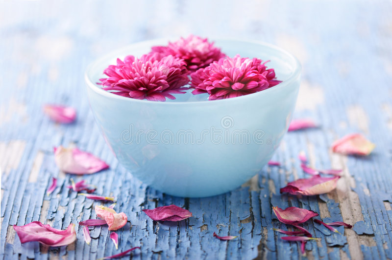 Aroma therapy royalty free stock photography