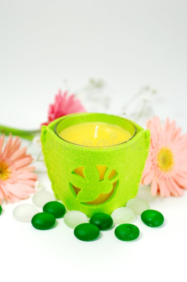 Aroma Therapy Candle royalty free stock images