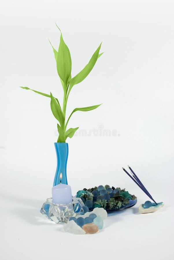 aromatheraphy温泉 免版税库存照片