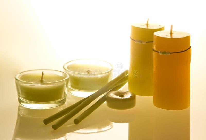 Aromatherapie stockbilder