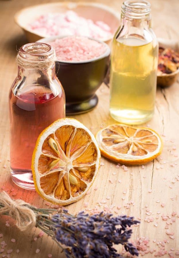 Aromatherapie. stockbild