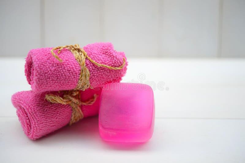 Aromatherapie-Duft der Orange Gesundheit und Schönheit, Stilllebenkonzept stockbild