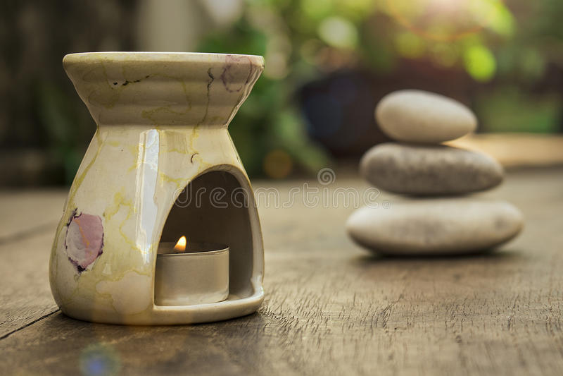 aromatherapy分散器 免版税库存照片