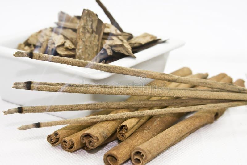 aromatherapy香火 图库摄影