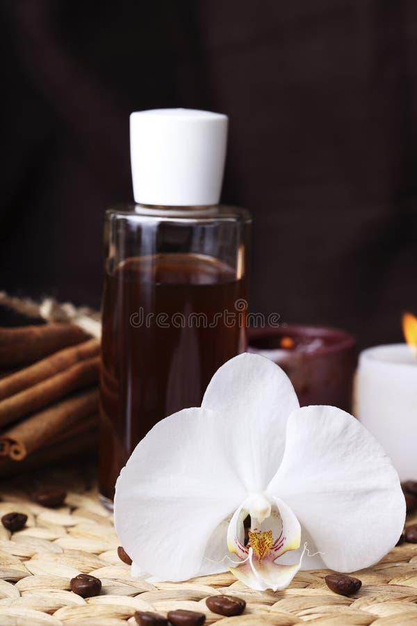 aromatherapy масла органические стоковые фото