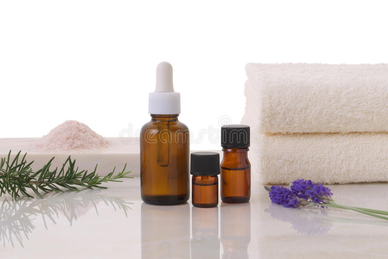 Download Aromatherapy imagem de stock. Imagem de stalk, rosa, de - 10058443