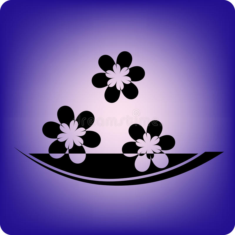 aromatherapy 皇族释放例证
