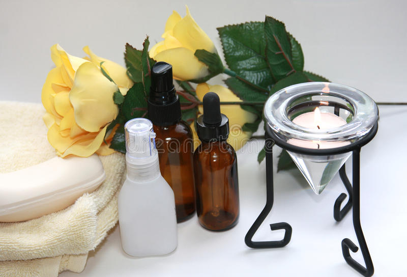 Aromatherapy royalty free stock photography
