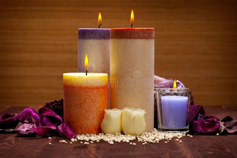 aromatherapy arkivfoton