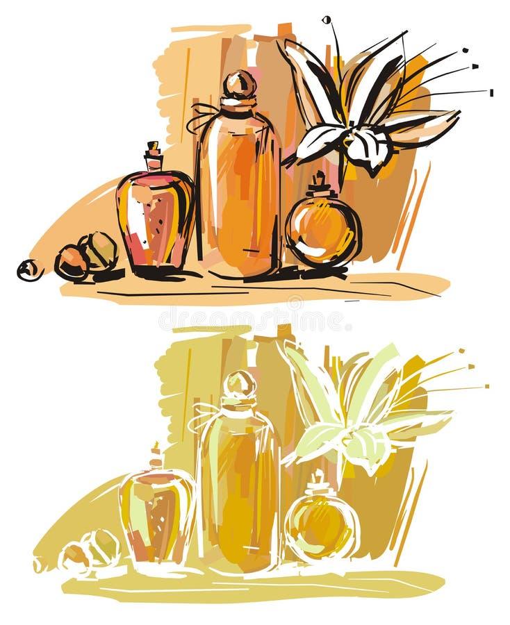 Aromatherapy vector illustration