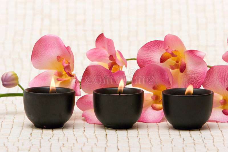 Aromatherapy imagens de stock royalty free