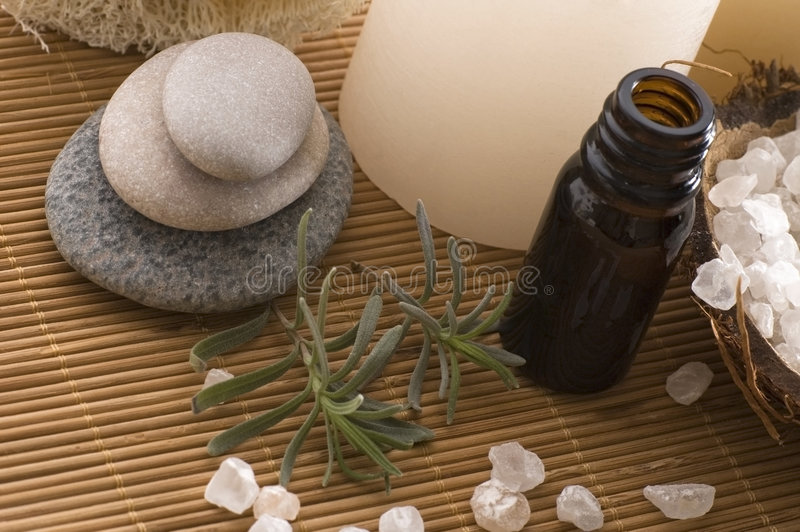 Aromatherapy stock afbeelding