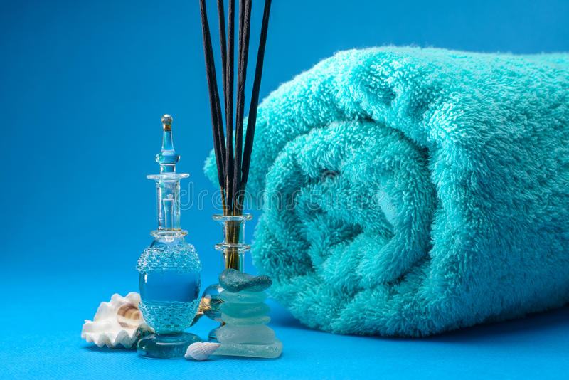 Aromatherapy royaltyfria bilder