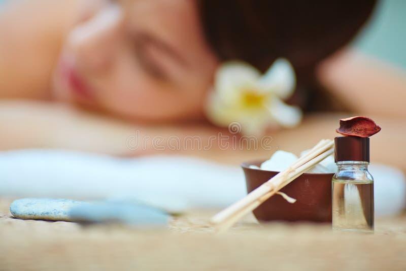 Aromatherapy arkivbild