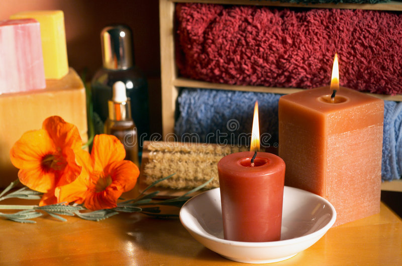 Aromatherapy royalty-vrije stock foto's