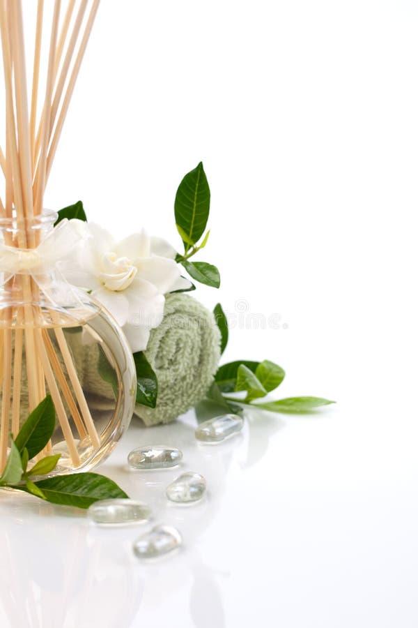 Aromatherapy Badekurortset lizenzfreie stockfotografie