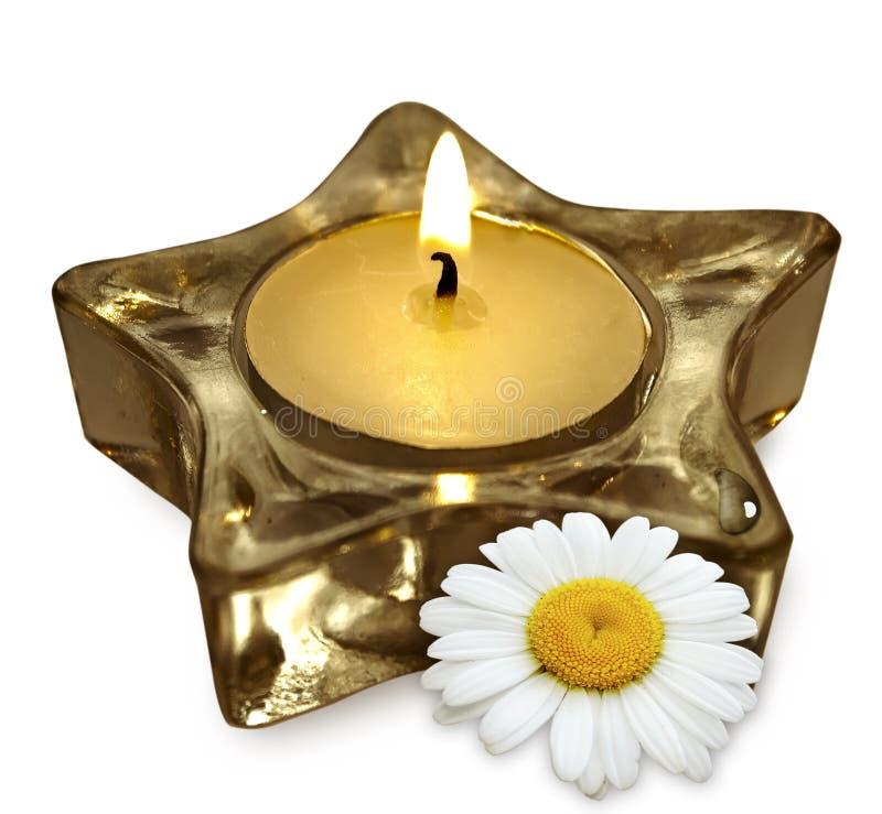 Aromatherapy candle royalty free stock photo