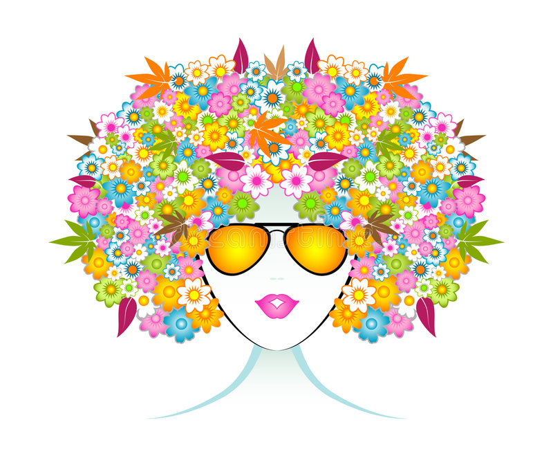 Download Aromatherapy Fashion Girl stock vector. Image of beauty - 6025418