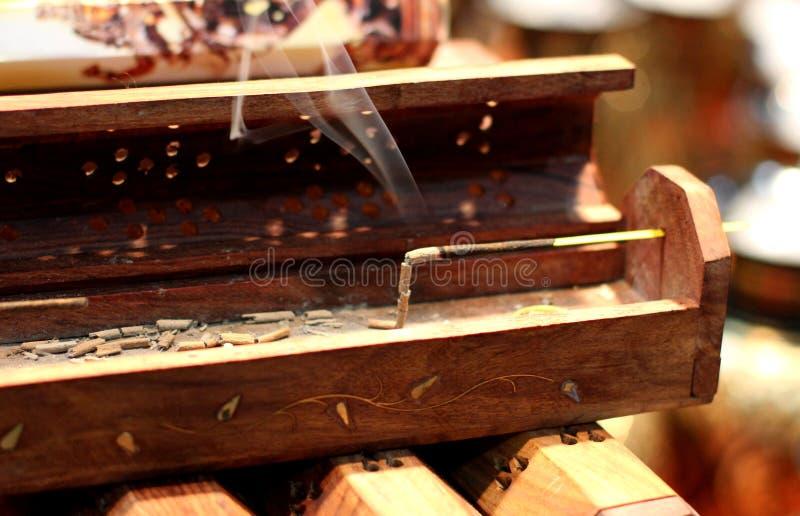 Aromatherapy Incense stick stock photo