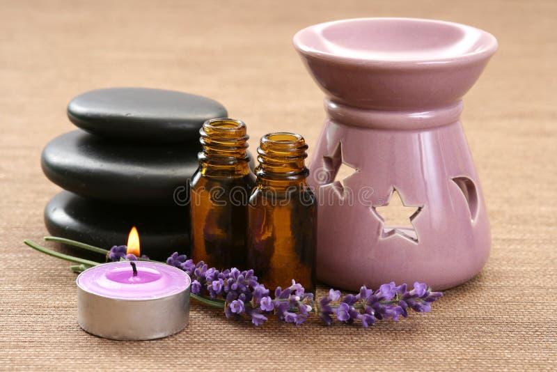 Aromatherapy Kamin lizenzfreies stockbild