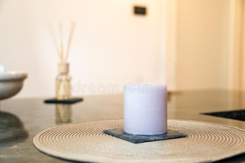 Aromatherapy, medicine east. Shot of aromatherapy candle, medicine east, natural medicine royalty free stock photography
