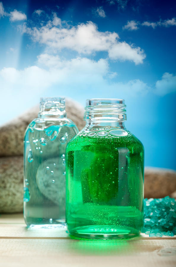 Download Aromatherapy oils stock image. Image of scenic, beautiful - 20391317