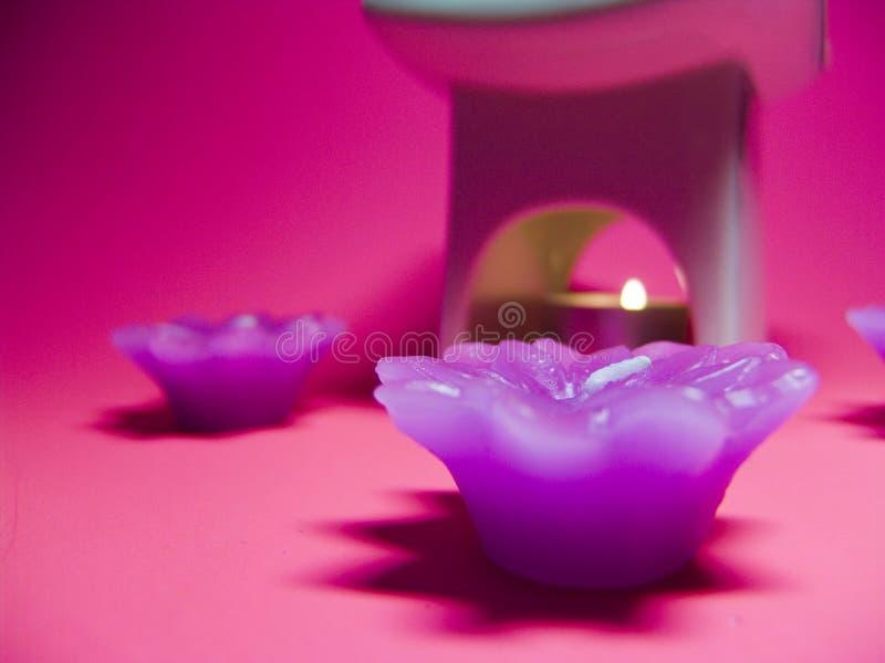 aromatherapy samling arkivbilder