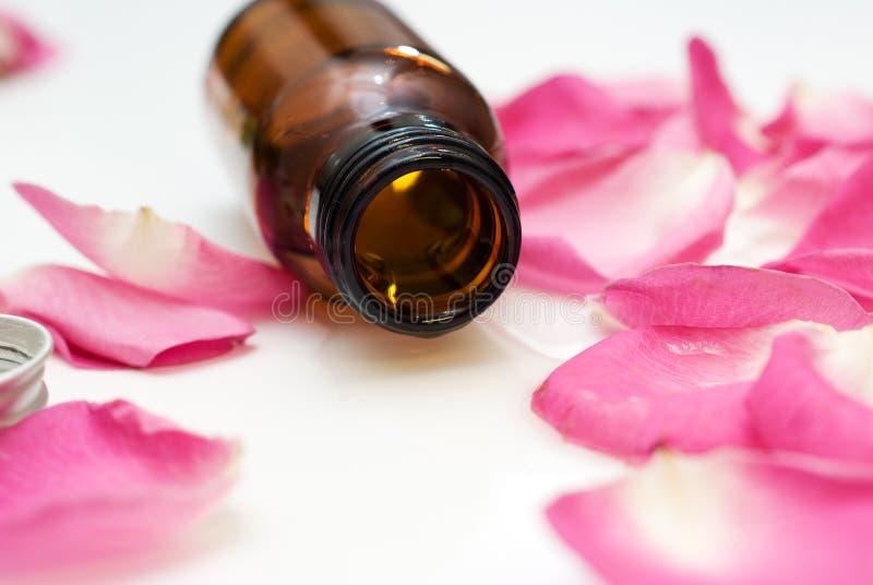 Aromatherapy Schmieröl lizenzfreies stockfoto