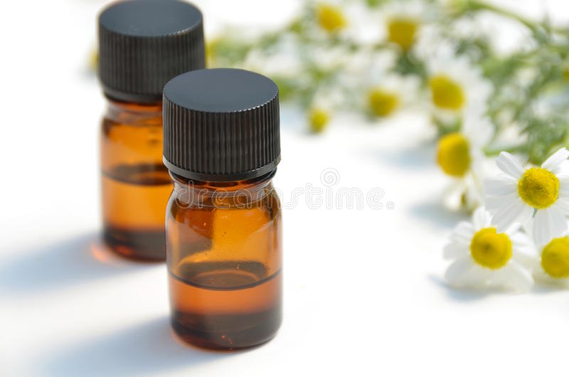 Aromatherapy Schmieröle lizenzfreies stockfoto