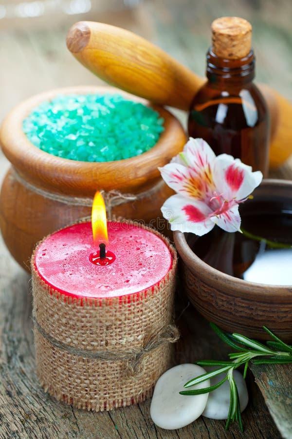 Aromatherapy.Spa lizenzfreie stockfotografie