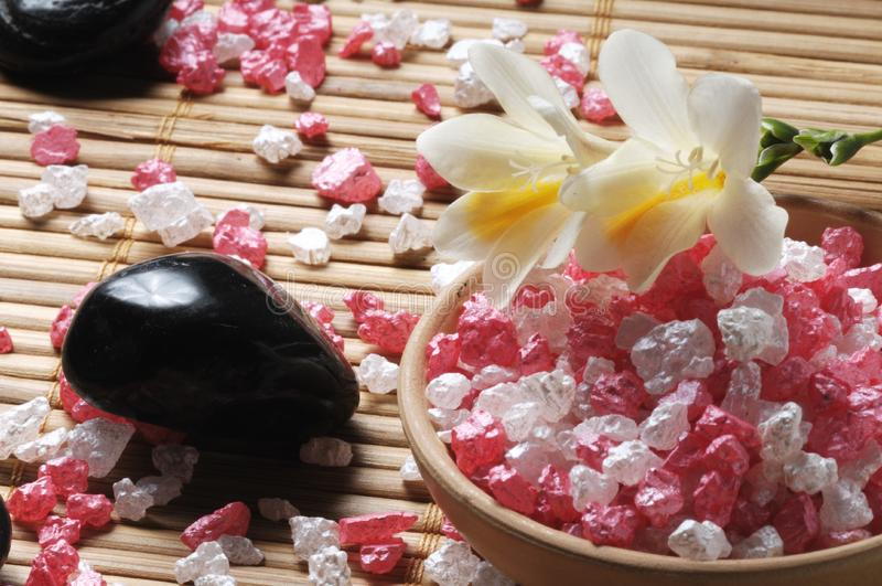 Aromatherapy Zen stock afbeelding