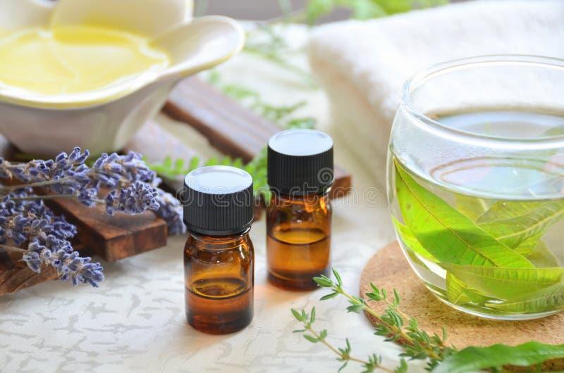 Aromatherapybehandeling royalty-vrije stock foto