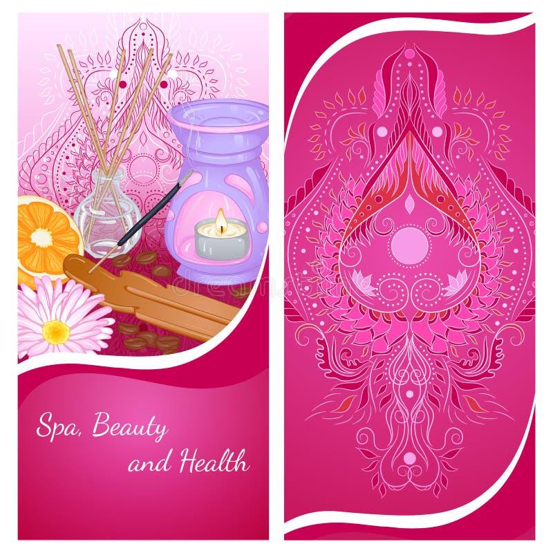 Aromatherapyvlieger stock illustratie