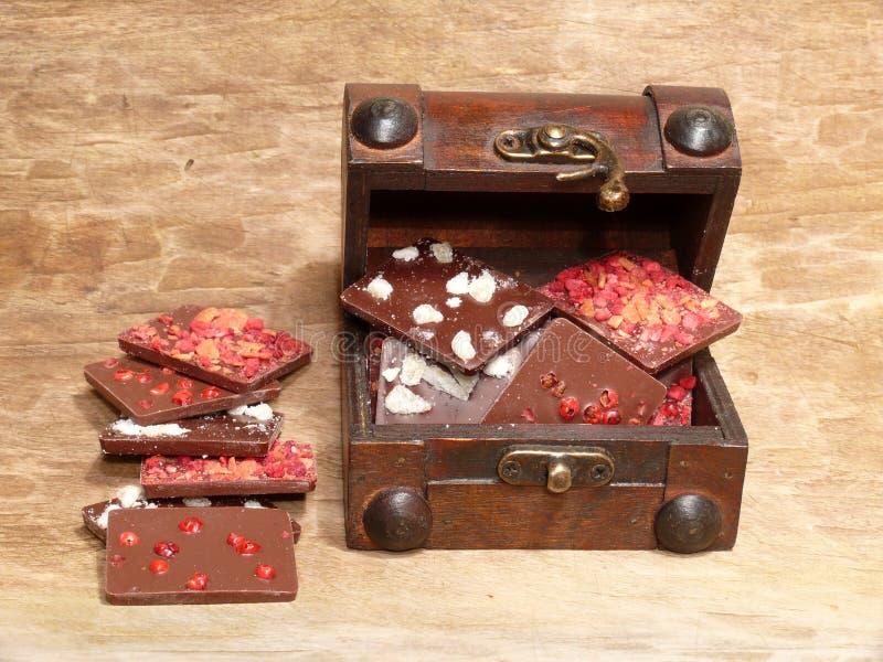 Aromatic Chocolates royalty free stock photos