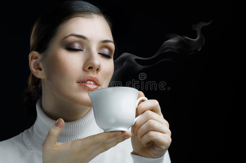 Aromatic coffee royalty free stock photography