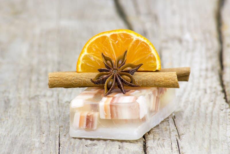 Aromatic glycerin soap royalty free stock image