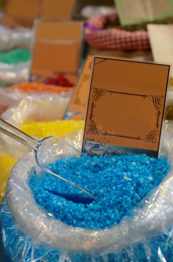 Aromatic salt stock photo
