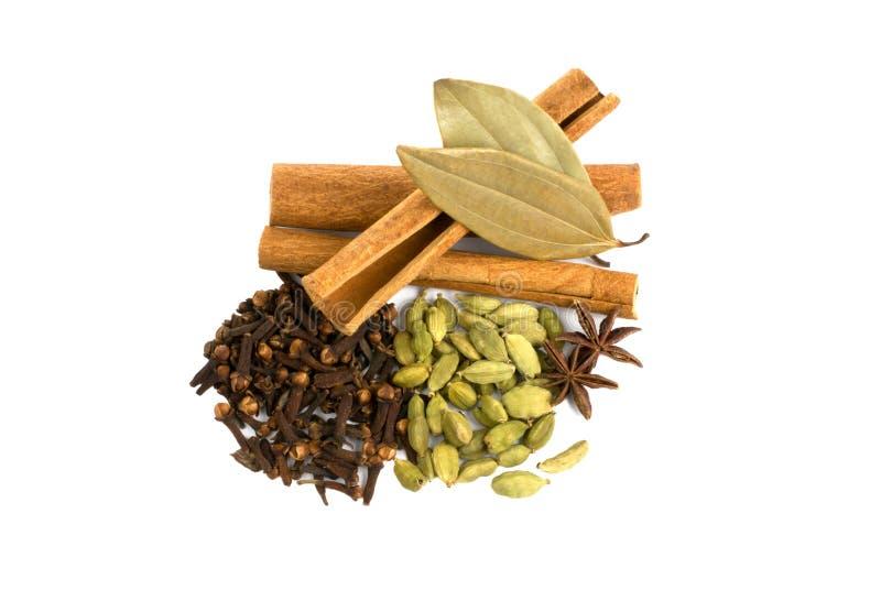 Aromatische Gewürze lizenzfreies stockfoto