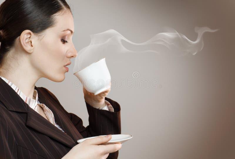 Aromatische koffie stock afbeelding